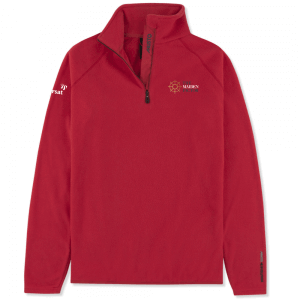 Musto Ladies Crew 1/2 Zip Microfleece