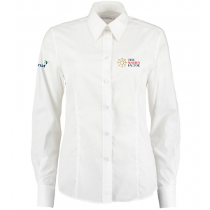 Ladies Oxford Longsleeved Shirt